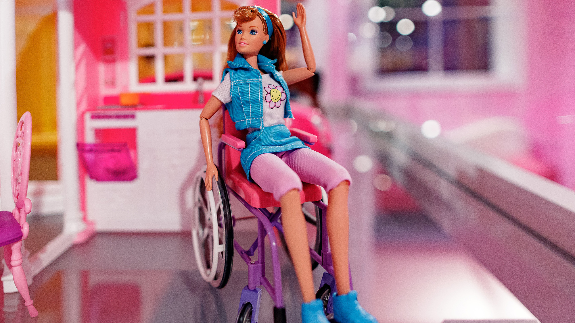 becky barbie u0027s friend who uses a wheelchair was discontinued
