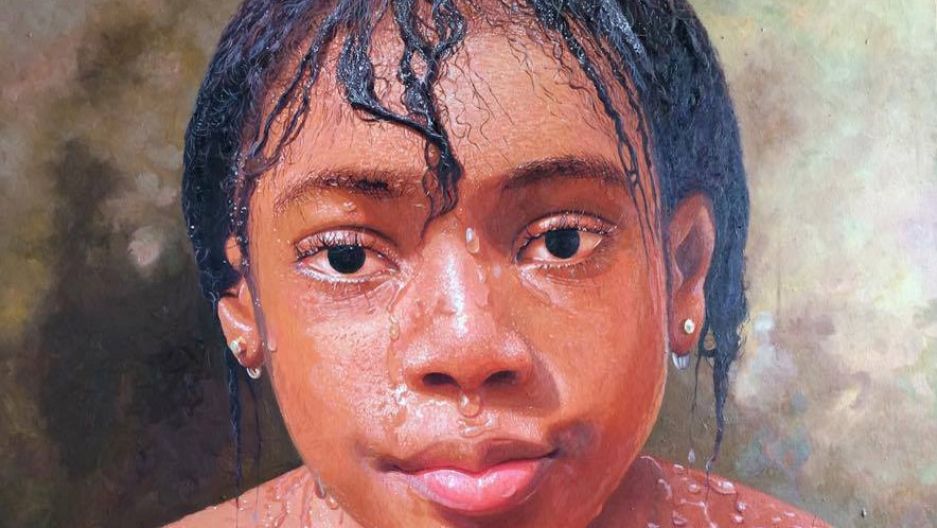 This isn 39 t a photo it 39 s an oil painting by a nigerian for Website for selling art